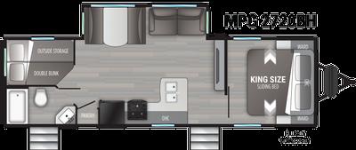 2021 Cruiser MPG 2720BH - 461472