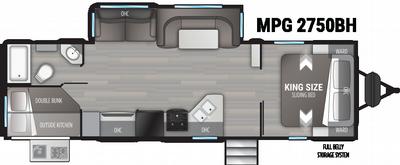 2021 Cruiser MPG 2750BH - 454859