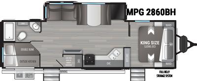 2021 Cruiser MPG 2860BH - CR6466