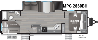 2021 Cruiser MPG 2860BH - 458905