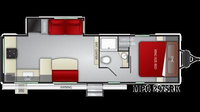 2020 Cruiser MPG 2975RK - CR0088