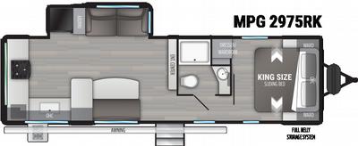 2022 Cruiser MPG 2975RK - CR6266