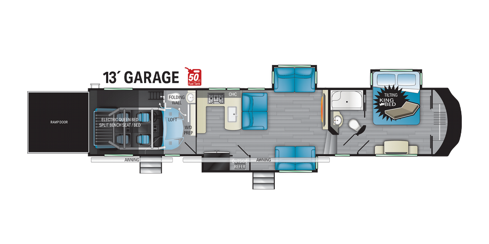 Cyclone 4006 Floor Plan - 2021