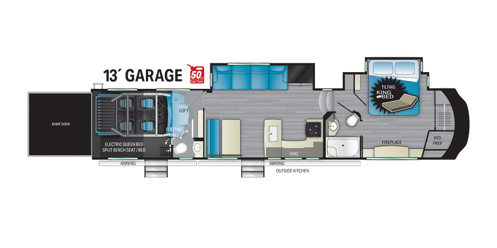 Cyclone 4007 Floor Plan - 2021