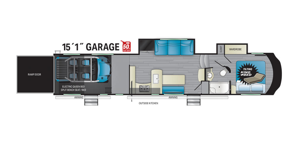 Cyclone 4115 Floor Plan - 2021