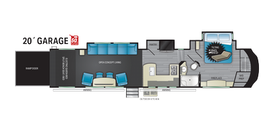 Cyclone 4220 Floor Plan - 2021