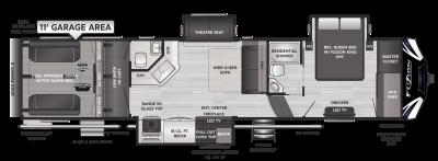 Fuzion 379 Floor Plan - 2021