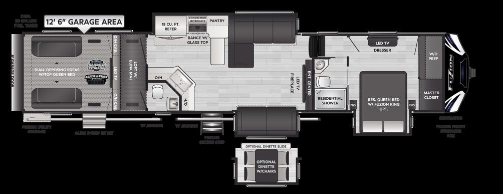 Fuzion 429 Floor Plan - 2021