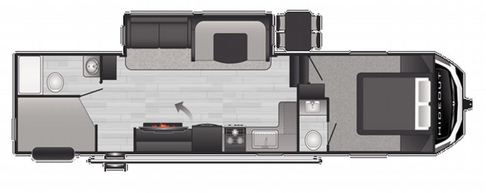hideout-fifth-wheel-301dbs-floor-plan-1986