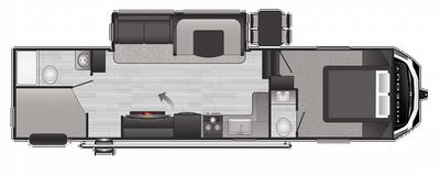 2021 Hideout Fifth Wheel 301DBS - HI5094