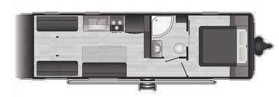 2021 Hideout Luxury 25TH - HI2342