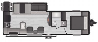 2021 Hideout Luxury 28RKS - HI1737
