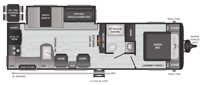 2022 Hideout Luxury 28RKS - HI7868