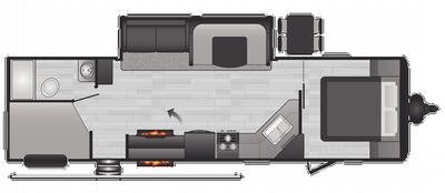 2021 Hideout Luxury 29DFS - HI3200