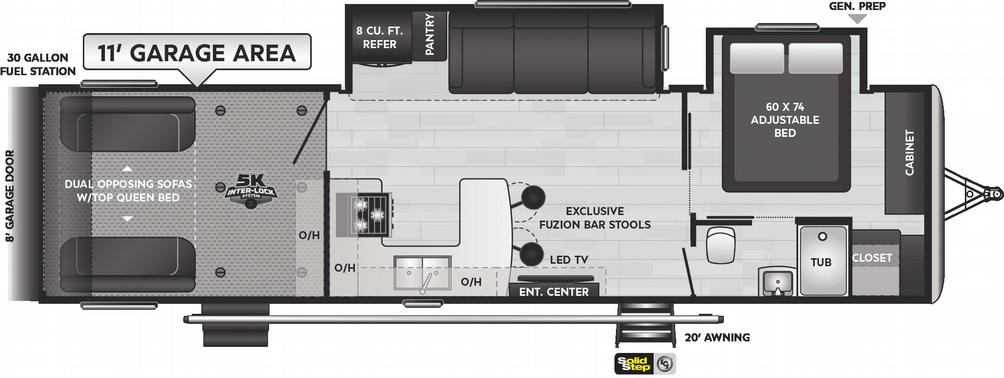 Impact 317 Floor Plan - 2021