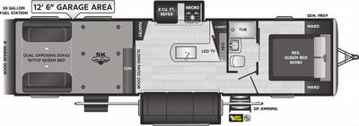 Impact 330 Floor Plan - 2021