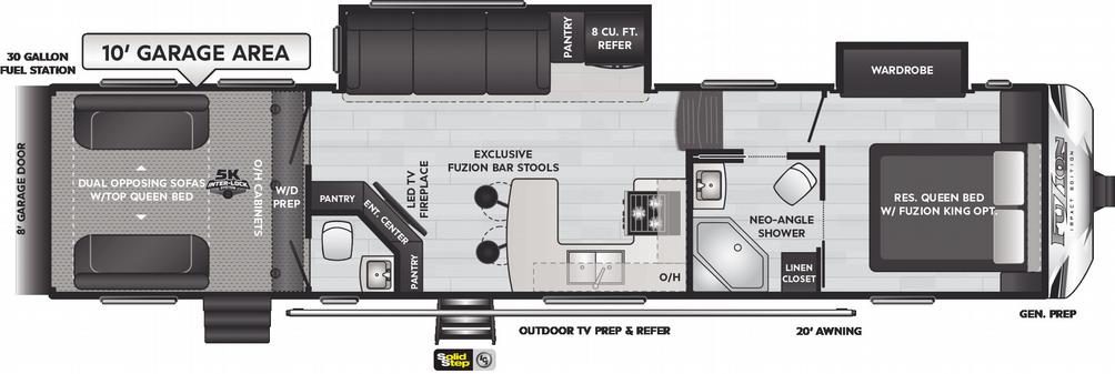Impact 359 Floor Plan - 2021
