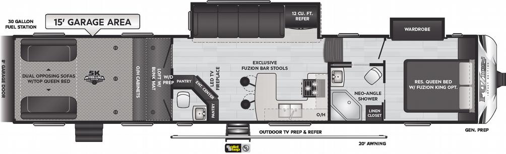 Impact 415 Floor Plan - 2021