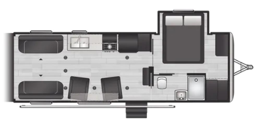 Impact Vapor Lite 25V Floor Plan - 2022