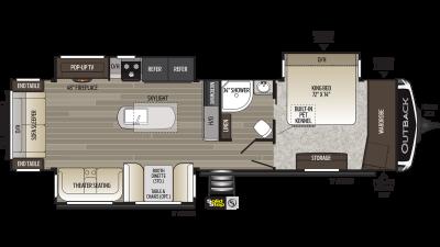2020 Outback 328RL - 450089