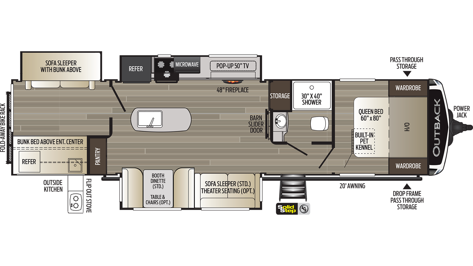 Outback 340BH Travel Trailer For Sale