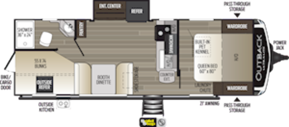 outback-ultra-lite-244ubh-floor-plan-2021