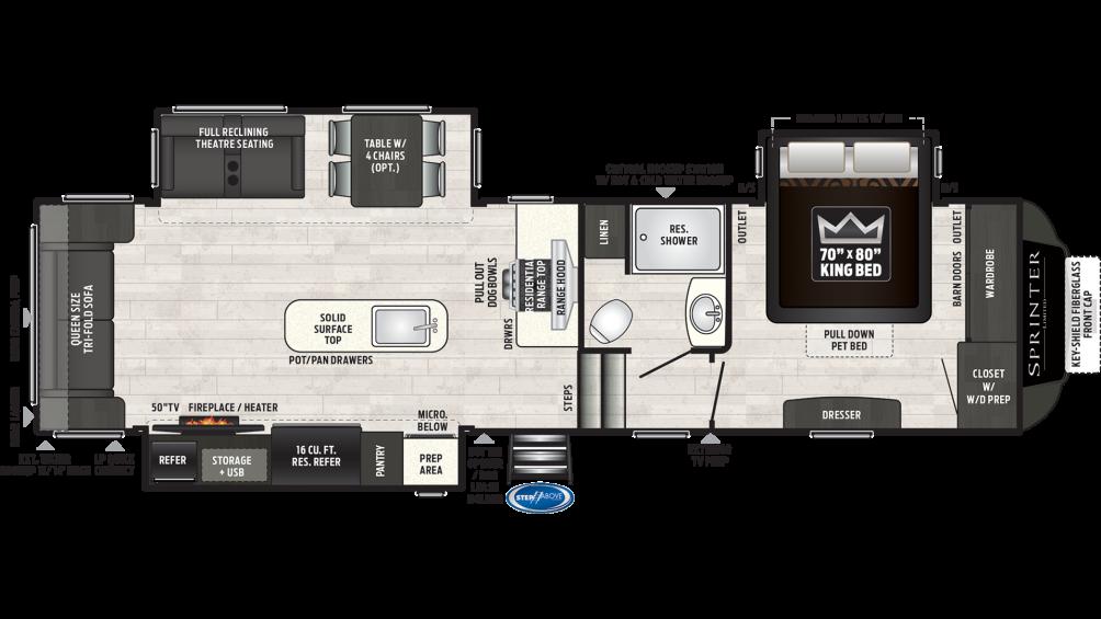 sprinter-limited-3161fwrls-floor-plan-2020