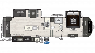 2020 Sprinter Limited 3161FWRLS - SP3117