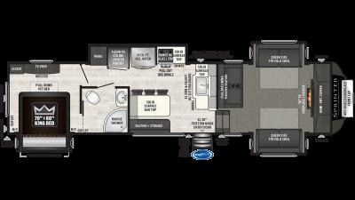 2020 Sprinter Limited 3341FWFLS - SP4568