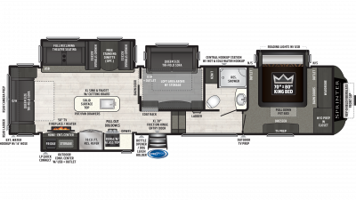 2020 Sprinter Limited 3571FWLFT - SP2488