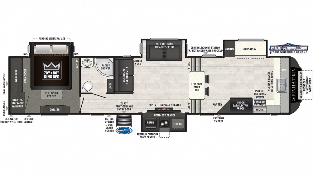 sprinter-limited-3610fwfks-floor-plan-2020