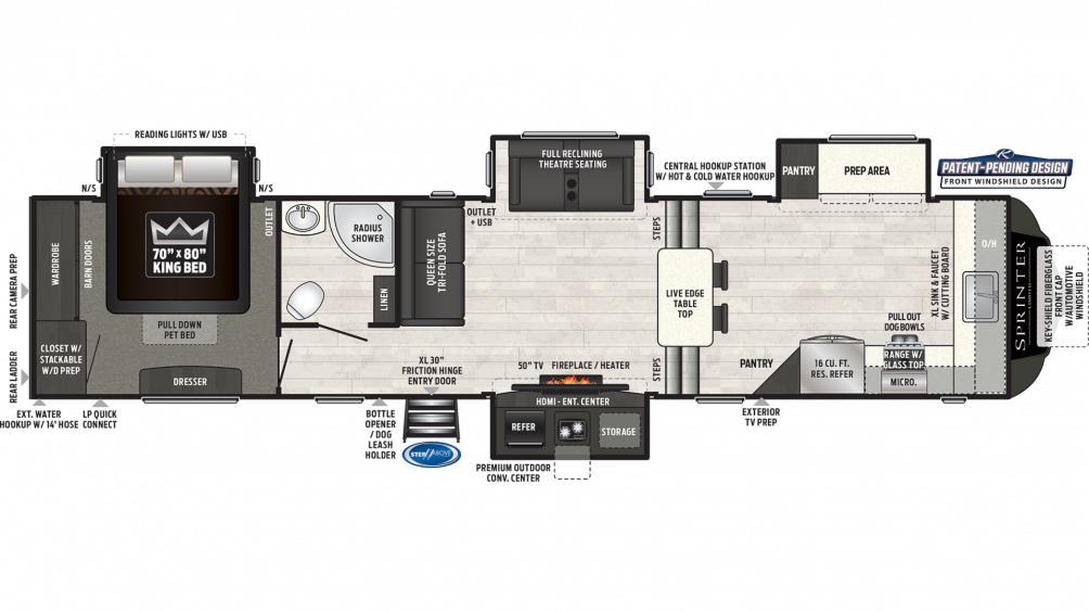 sprinter-limited-3611fwfks-floor-plan-2020