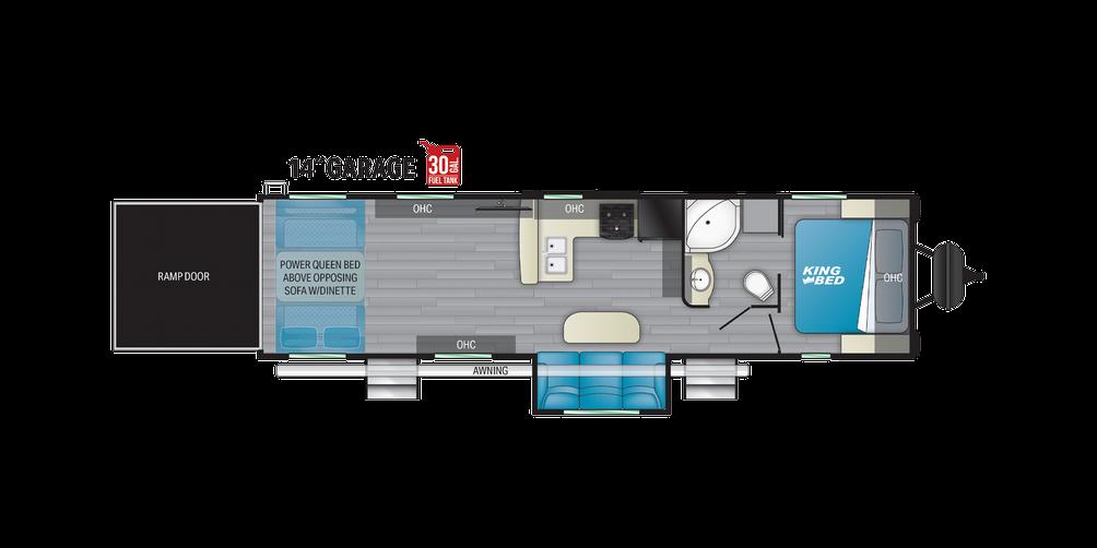 Torque T314 Floor Plan - 2021