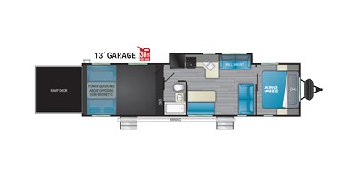 Torque T333 Floor Plan - 2021