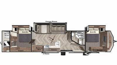 2021 Wildwood Lodge 4002Q