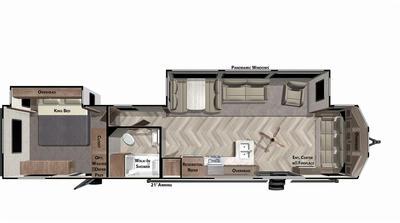 2022 Wildwood Lodge 40FDEN - WI7404