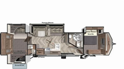 2022 Wildwood Lodge 42QBQ - WI9362