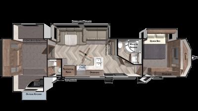 2021 Wildwood Lodge 42QBQ - WI8869