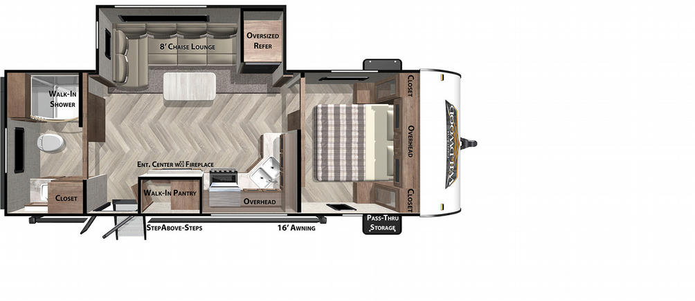 Wildwood 22RBS Floor Plan - 2021