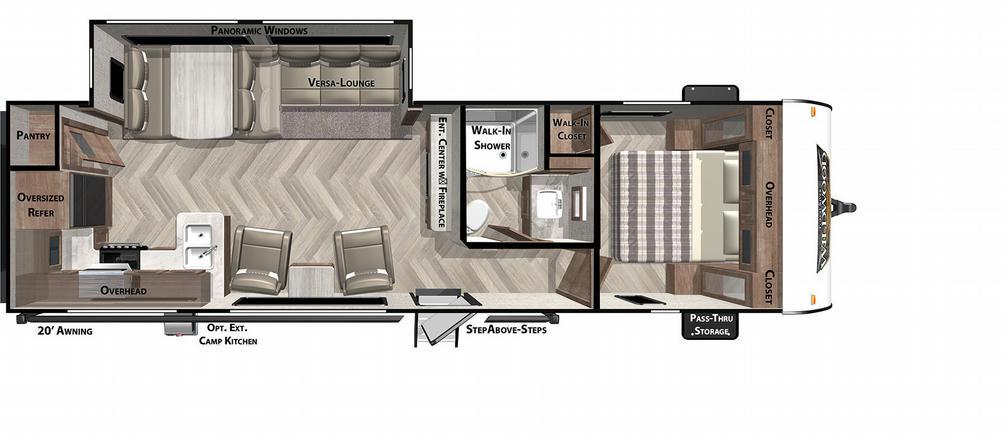 Wildwood 27RK Floor Plan - 2021