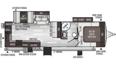 2021 Flagstaff Super Lite 29RKSW - FL3588