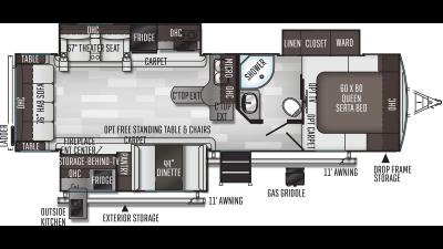 2021 Flagstaff Super Lite 29RSWS - FL7923