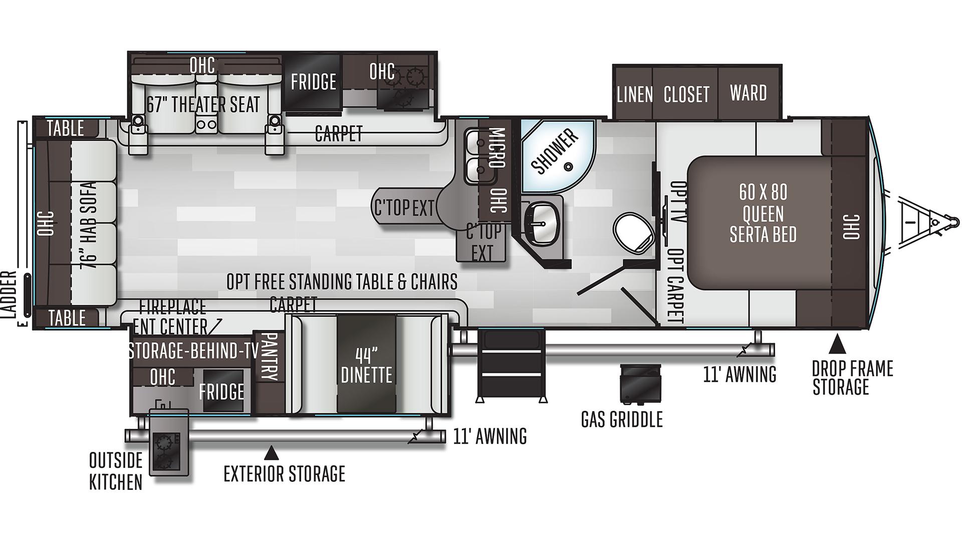 Flagstaff Super Lite 29rsws Travel Trailer For Sale