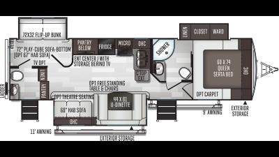 2021 Flagstaff Super Lite 29BDS - FL5625