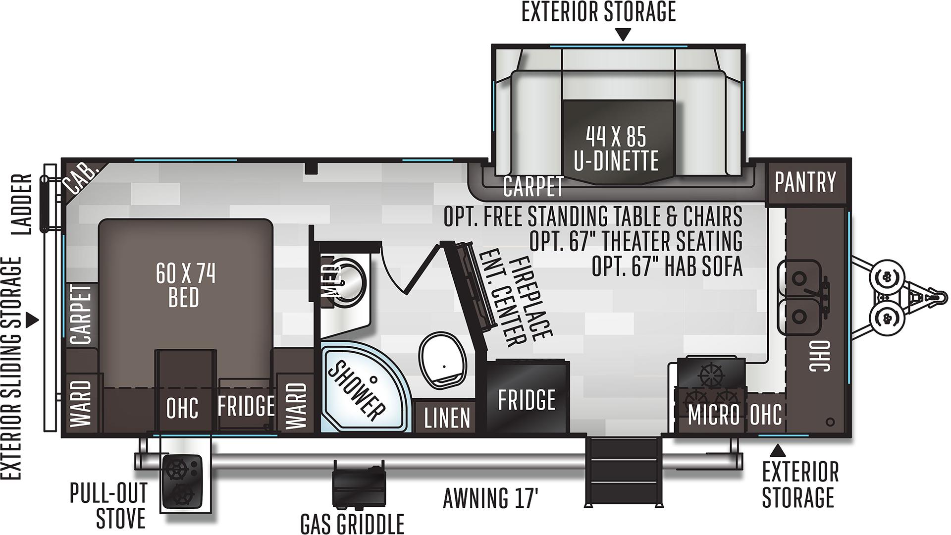 Flagstaff Micro Lite 25FKS Travel