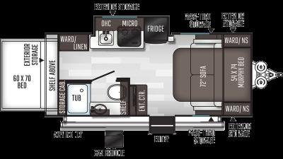 2021 Flagstaff E-Pro 19RB - FL3058