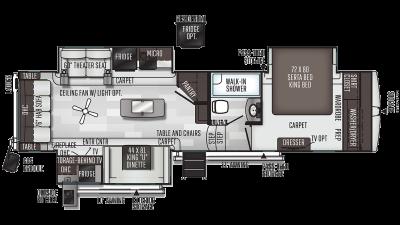 2021 Flagstaff Classic Super Lite 8529CSB - FL1623