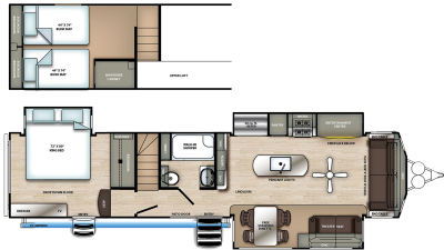 2021 Sierra Destination 399LOFT - SI1812