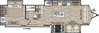 2022 Cedar Creek Cottage 40CCK - CE5419