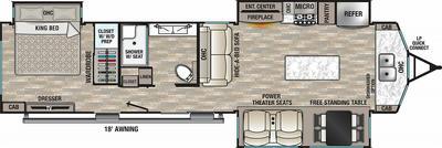 2021 Cedar Creek Cottage 40CFK2 - CE8275